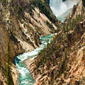 Yellowstone Waterfalls by Sebastian Musial
