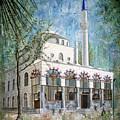 Yeni Cami, Fethiye by Carol Bostan