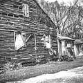 Yesteryear Old Slave Quarters by Connie Lasseigne