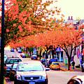 Yew Street Autumn by Paul Kloschinsky