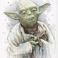 Yoda by Olga Shvartsur