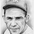 Yogi Berra by Greg Joens
