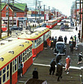 Yonge And Eglinton 1944 by Kenneth M  Kirsch