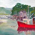 York Harbor by Dillard Adams