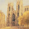 York Minster by Peter Miller
