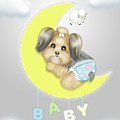 Yorkie Fofa Baby by Catia Lee