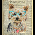 Yorkshire Terrier-jp3856 by Jean Plout