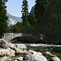 Yosemite Bridge Water Color Photograph by Daniel Farina
