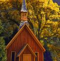 Yosemite Chapel by Floyd Hopper