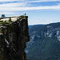 Yosemite Cliffs by Walt Sterneman