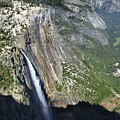 Yosemite Falls And Valley From Eagle Tower Detail - Yosemite by Bruce Lemons