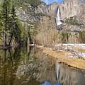 Yosemite Falls Reflection by Doug Holck