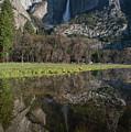 Yosemite Falls Reflection by Ken Dietz