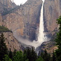 Yosemite Falls Vertical by Joyce Dickens