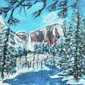 Yosemite In Winter by Carolyn Donnell