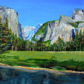 Yosemite National Park In The Spring by Charles and Stacey Matthews