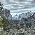 Yosemite National Park Tunnel View  by Wayne Moran