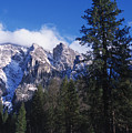 Yosemite Three Brothers In Winter by Jim And Emily Bush