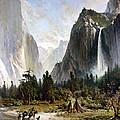Yosemite Valley, C1860 by Granger