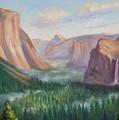 Yosemite Valley by Karin  Leonard