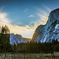 Yosemite Valley Sunset by Adam Rainoff
