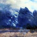 Yosemite Valley Twin Peaks by Media Impasto Paper