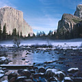 Yosemite Valley Winter by Steve Williams