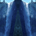 Yosemite Waterfall Mirror by Kyle Hanson