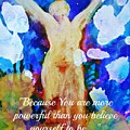 You Are Powerful by Alma Yamazaki