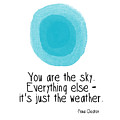 You Are The Sky by Linda Woods