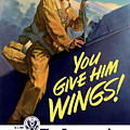 You Give Him Wings - Ww2 by War Is Hell Store