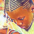 Young Black Female Teen 2 by Ginger Wakem