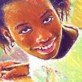 Young Black Female Teen 5 by Ginger Wakem