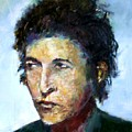 Young Bob Dylan  by Udi Peled