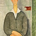 Young Boy With Red Hair by Amedeo Modigliani