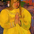 Young Christian Girl 1894 by Gauguin Paul