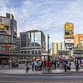 Young-dundas Square In Toronto Canada by John McGraw