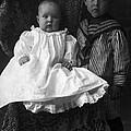 Young Ernest Lawrence And Brother, 1904 by Science Source