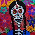 Young Frida Kahlo 2 by Pristine Cartera Turkus