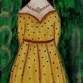 Young Frida Kahlo Series 1 by Rain Ririn