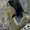 Young Girl Eg569090 by Pol Ledent
