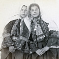 Young Girls Of Bethlehem Year 1896 by Munir Alawi