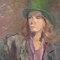 Young Irish Man by Irena  Jablonski