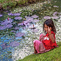 Young Khmer Girl - Cambodia by Art Phaneuf