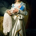Young Lady And The Baby by Ignace Spiridon