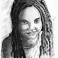 Young Lady by Anthony Mwangi