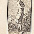 Young Man Bareheaded, With Sword by Daniel Nikolaus Chodowiecki