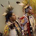 Pow Wow Young Men by Bob Christopher
