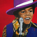 Young Michael Jackson Singing by Chelle Brantley