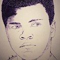 Young Muhammad Ali by Jack Bunds